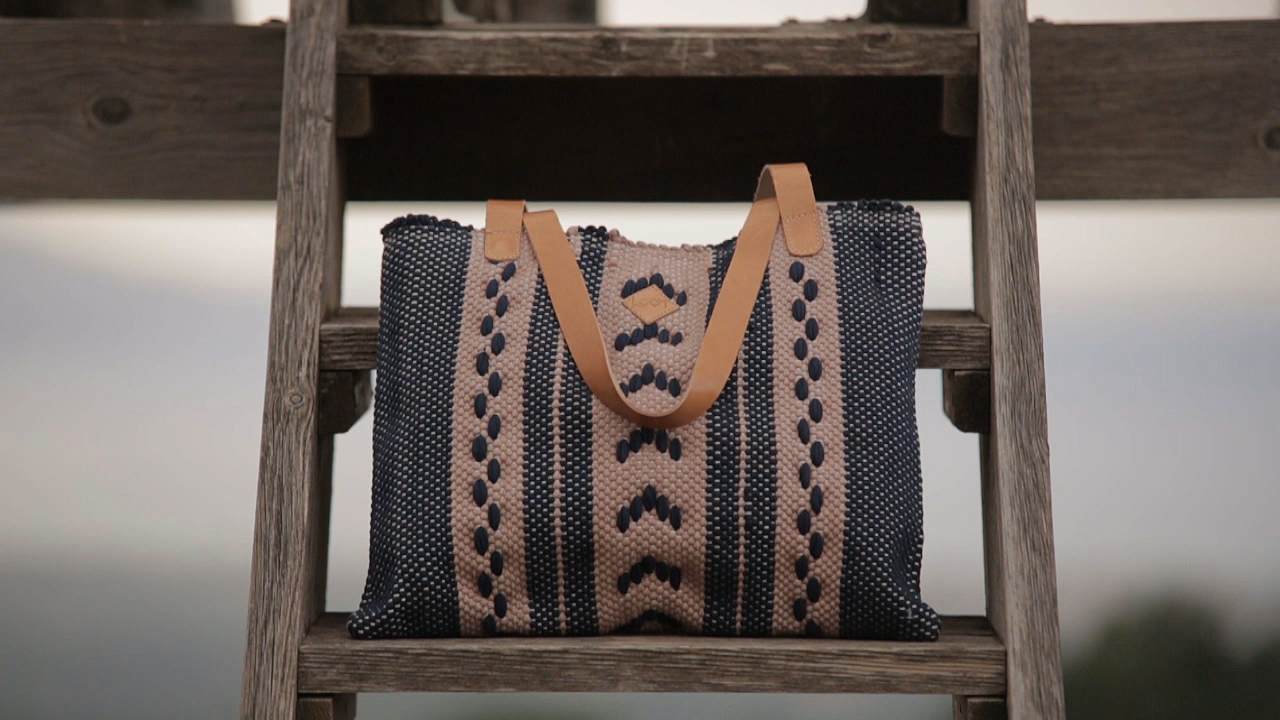 Loom Handmade Bags video commercial making of